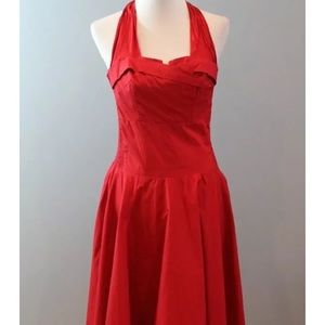 Trashy Diva Candice Gwinn Sexy red dress Sz L